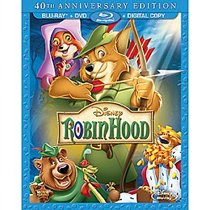 Robin Hood Blu-ray and DVD Combo Pack 7745055550933P