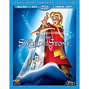 The Sword in the Stone Blu-ray and DVD Combo Pack 7745055550934P