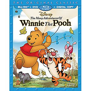 The Many Adventures Of Winnie The Pooh 2-Disc Combo Pack 7745055550942P