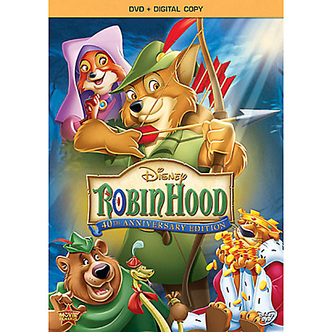 Robin Hood DVD + Digital Copy