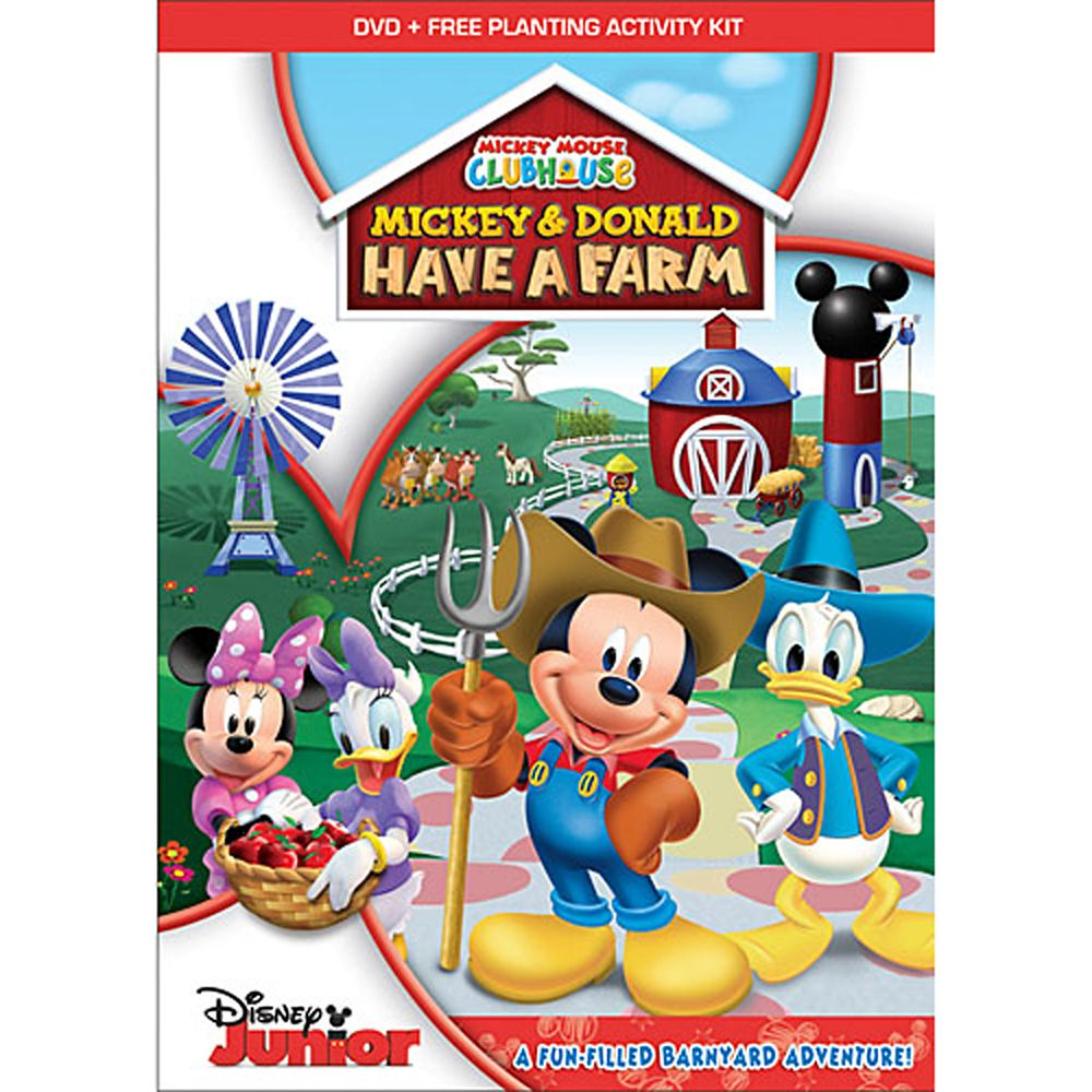 Mickey & Donald Have a Farm DVD