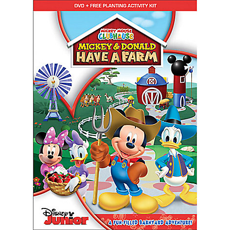 Mickey & Donald Have a Farm DVD