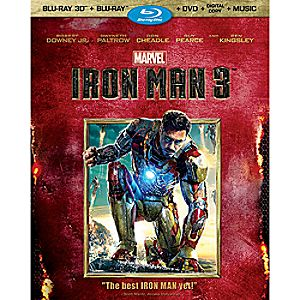 Iron Man 3 3-D Blu-ray 3-Disc Set