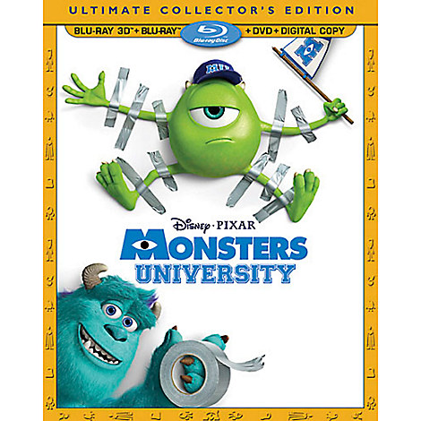 Monsters University 4-Disc Ultimate Collector's Edition