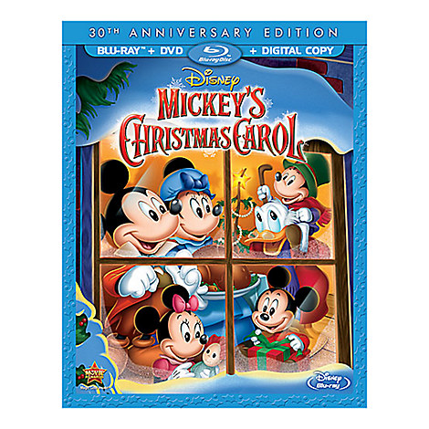Mickey's Christmas Carol 30th Anniversary Edition Blu-ray