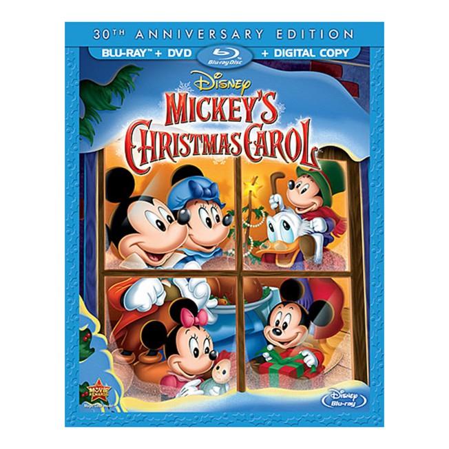 Mickey's Christmas Carol 30th Anniversary Edition Blu-ray