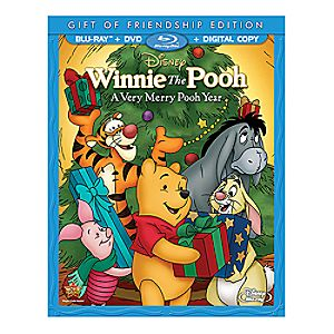 Winnie The Pooh: A Very Merry Pooh Year Gift of Friendship Edition 7745055551151P