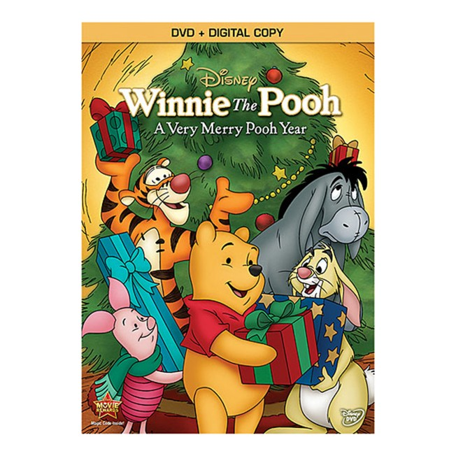Winnie The Pooh: A Very Merry Pooh Year DVD