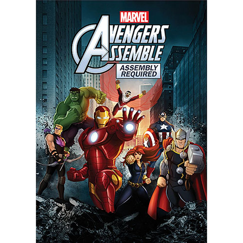 Avengers Assemble Assembly Required DVD Official shopDisney