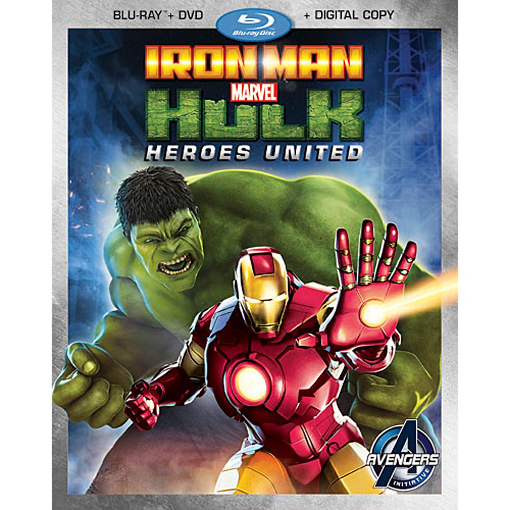 Iron Man and Hulk: Heroes United Blu-ray 2-Disc Combo Pack