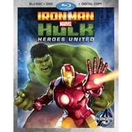 Iron Man and Hulk: Heroes United Blu-ray 2-Disc Combo Pack
