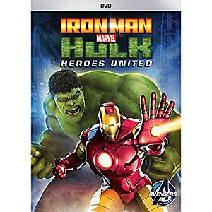 Iron Man and Hulk: Heroes United DVD 7745055551161P