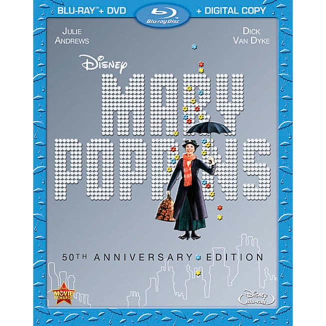 Mary Poppins 50th Anniversary Edition 2-Disc Blu-ray