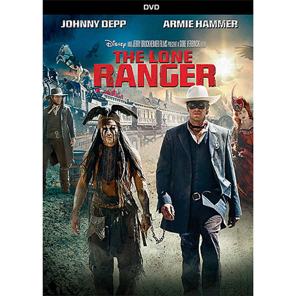 The Lone Ranger DVD Official shopDisney