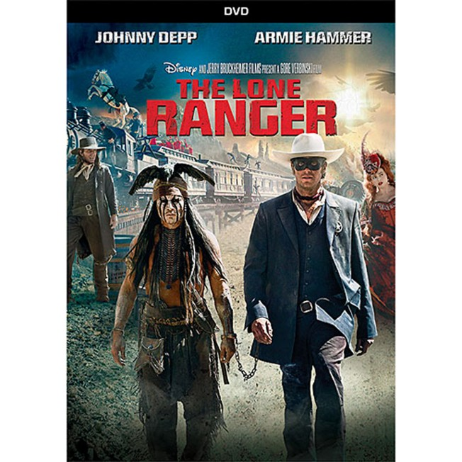 The Lone Ranger DVD