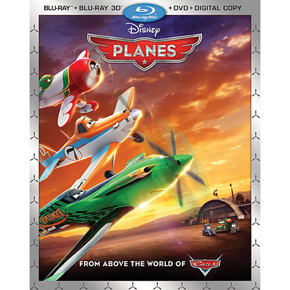 Planes 3D Blu-ray 2-Disc Combo Pack Official shopDisney