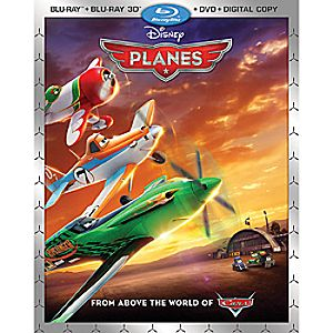 Planes 3D Blu-ray 2-Disc Combo Pack
