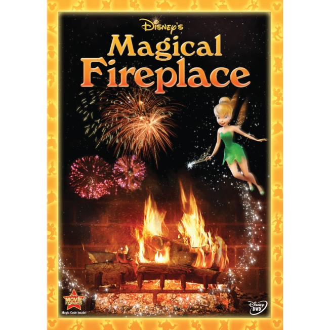 Magical Fireplace DVD