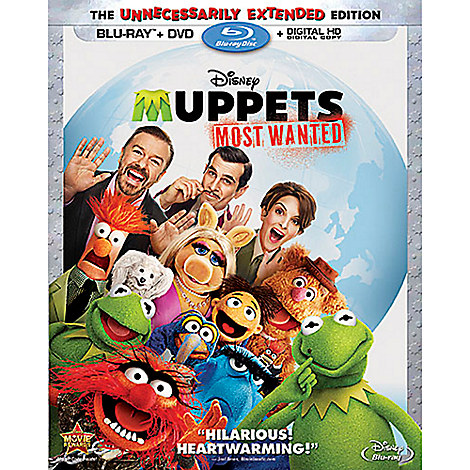 Muppets Most Wanted Blu-ray Combo Pack