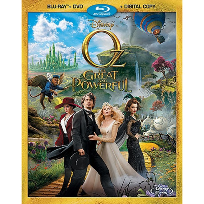 Oz The Great and Powerful 2-Disc Combo Pack