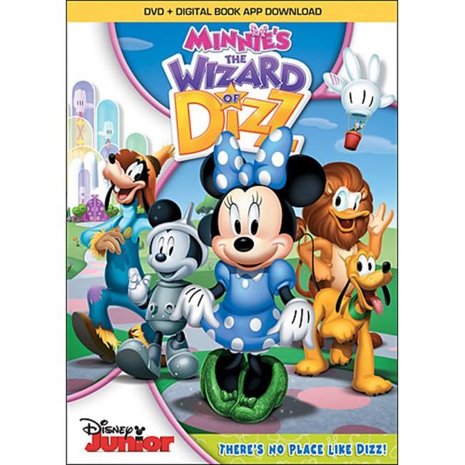 Minnie's The Wizard of Dizz DVD