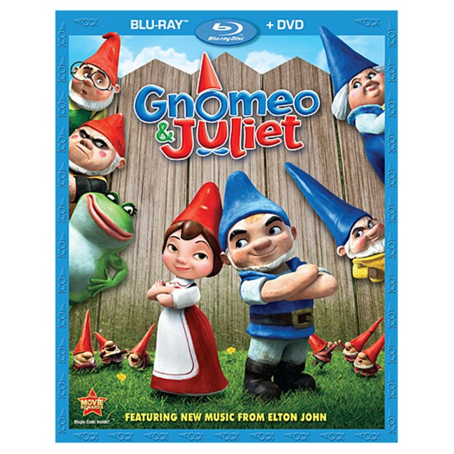 Gnomeo and Juliet – 2-Disc Combo Pack