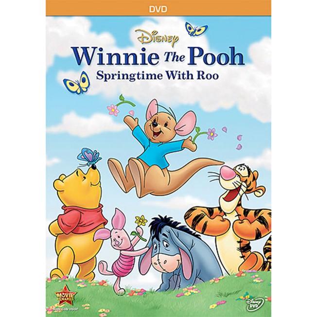 Winnie the Pooh: Springtime With Roo DVD