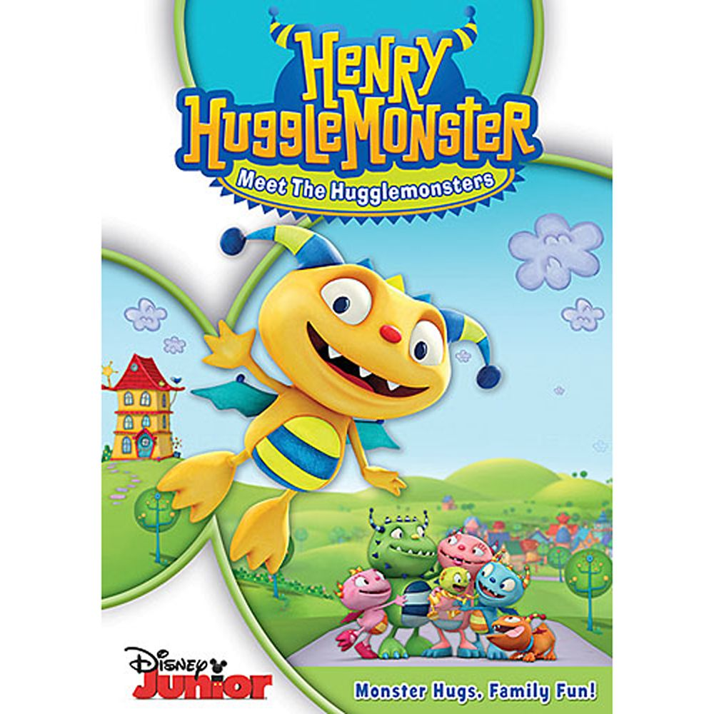 Henry Hugglemonster: Meet the Hugglemonsters DVD