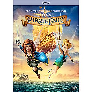 The Pirate Fairy DVD 7745055551273P