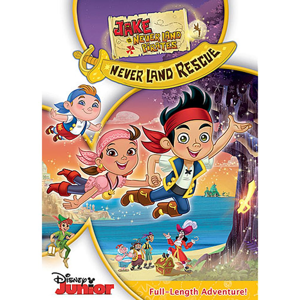 Jake And The Never Land Pirates Jake S Never Land Rescue Dvd Shopdisney