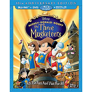 Mickey, Donald, Goofy: The Three Musketeers Blu-ray 10th Anniversary Edition 7745055551297P