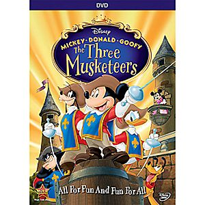 Mickey, Donald, Goofy: The Three Musketeers DVD 10th Anniversary Edition 7745055551298P