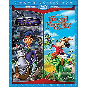 The Adventures of Ichabod and Mr. Toad + Fun and Fancy Free 2-Movie Blu-ray Collection 7745055551303P