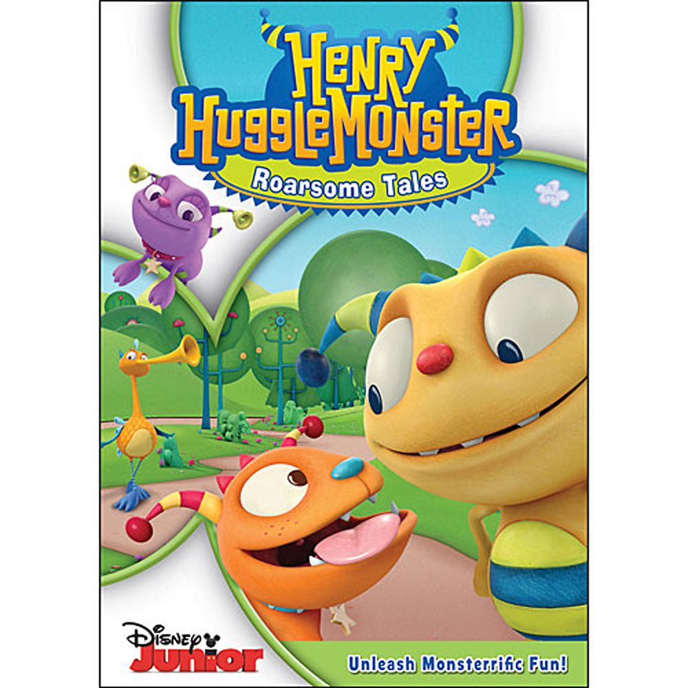 Henry Hugglemonster: Roarsome Tales DVD Official shopDisney