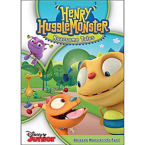 Henry Hugglemonster: Roarsome Tales DVD