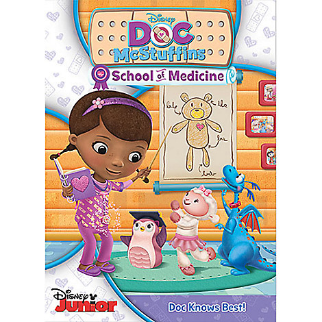 Doc McStuffins School of Medicine DVD