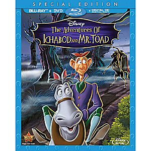 The Adventures of Ichabod and Mr. Toad Blu-ray Special Edition 7745055551337P