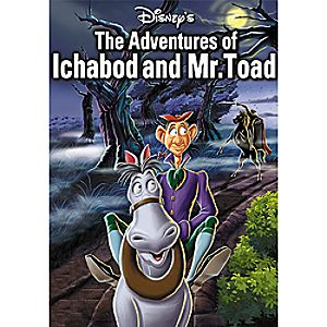 The Adventures of Ichabod and Mr. Toad DVD 7745055551338P