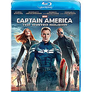 Captain America: The Winter Soldier Blu-ray 7745055551341P