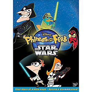 Phineas and Ferb Star Wars DVD