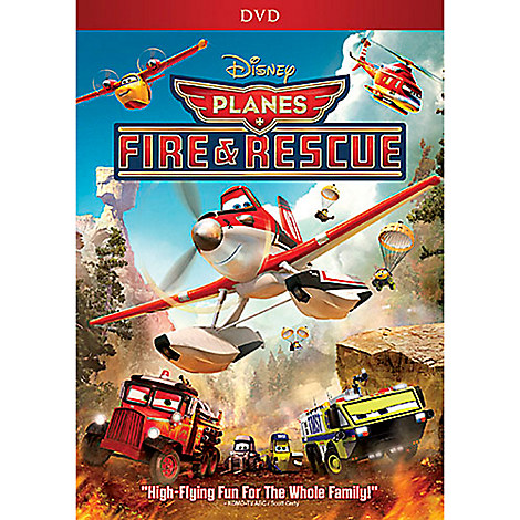 Planes: Fire & Rescue DVD