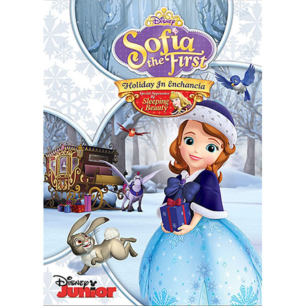 Sofia the First: Holiday in Enchancia DVD