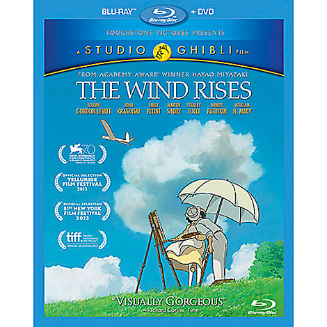 The Wind Rises Blu-ray Combo Pack