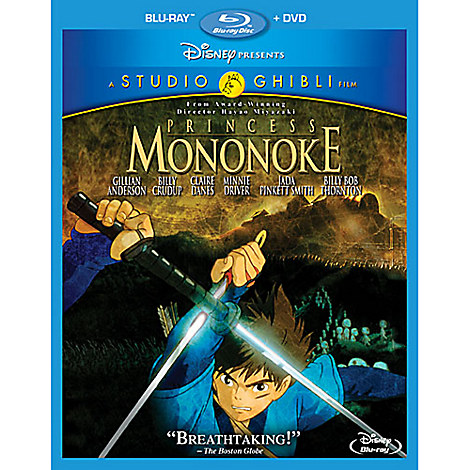 Princess Mononoke Blu-ray Combo Pack
