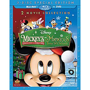 Mickey's Once Upon a Christmas + Mickey's Twice Upon a Christmas 3-Disc Special Edition 7745055551364P