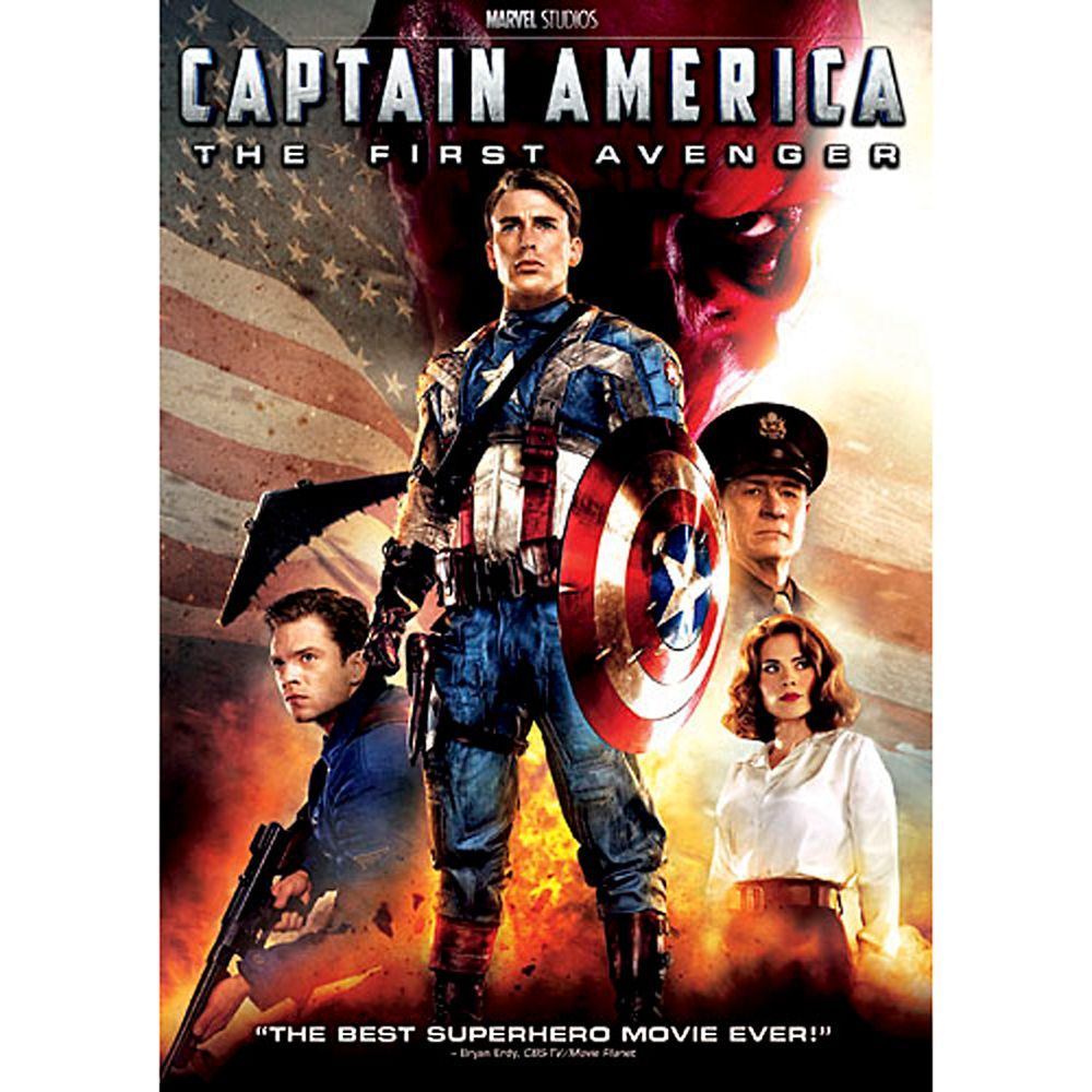 Captain America: The First Avenger DVD Official shopDisney