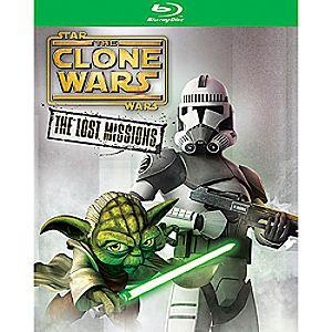 Star Wars Clone Wars: The Lost Missions Blu-ray 2-Disc Set 7745055551390P