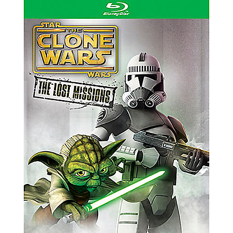 Star Wars Clone Wars: The Lost Missions Blu-ray 2-Disc Set