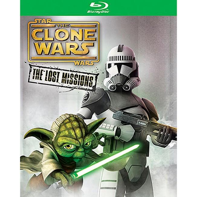 Star Wars Clone Wars: The Lost Missions Blu-ray 2-Disc Set