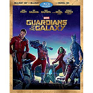 Guardians of the Galaxy Blu-ray 3D Combo Pack 7745055551407P